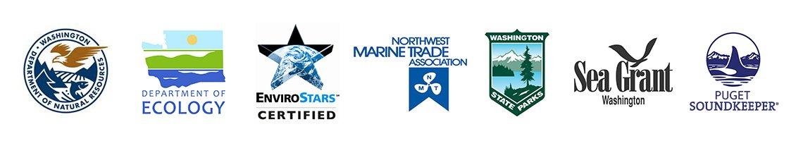 Clean Marina partner logos